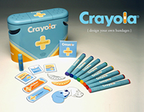 CRAYOLA COLORAID interactive first aid kit for kids