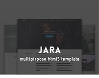 JARA | Multipupose HTML5 Template