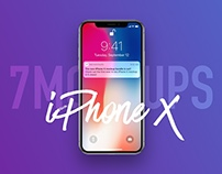 7 Most Popular iPhone X Mockups