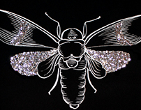 GLITTER INSECTS