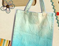 ombre totebag collection