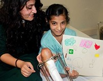 'W11 HAND IN HAND' at Indus Hospital