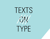 texts on type book redesign
