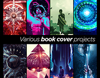 Various Book Cover Projects