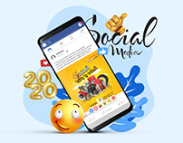 Social Media 2020 - New project