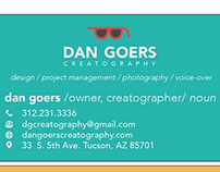 Dan Goers Business Card