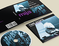 Time Stops LP & Booklet Design