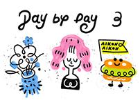 Day by Day 迷你插画系列 No.3