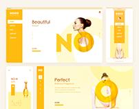 NONO-Perfume Theme Design