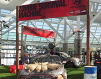 The Walking Dead : Zombie Survival Machine