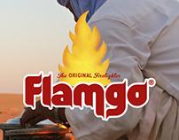 Flamgo firelighter packaging design