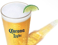 Corona Light on Draft Launch