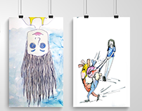 Inktober Illustrations