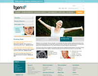 TGen Foundation Website