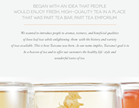 TEAVANA EDITORIAL DESIGN
