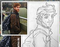 🌟 Portrait Sketches