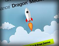 Dragon Medical One Landing Page