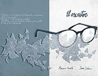 """Ilustraciones y Diseño para """"El Escritor"""""""
