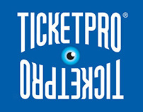 Advertising designs: Ticketpro