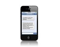 PREGNANCY SCARE SMS