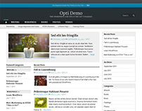 Opti, Premium WordPress Personal Blog Theme