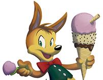 Ice-cream Kangaroo
