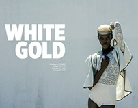 White Gold for Gaschette Magazine