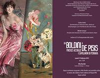 Da Boldini a De Pisis - visual mostra