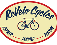 ReVelo Cycles Logo Design
