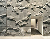 Sculptural fibreC for Pavilion at Swissbau Basel | CH