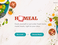 UX Case Study for an on-demand food marketplace