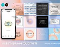 Gradient Instagram Quotes CANVA