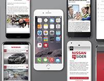 Nissan Insider App Branding