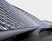 Bridge Pavilion for Expo 2008 in Zaragoza by Zaha Hadid