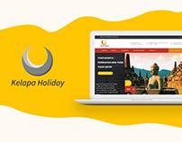 Kelapa Holiday Web Design