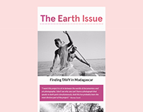 The Earth Issue: E-Newsletters