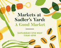 Sadler's Yard Posters and Flyers