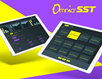Omnia SST - Sound program UI/UX design
