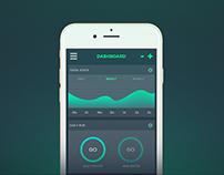 Go! Fitness App Concept