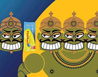 Print Ads Inspired from Ramayana
