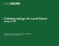 Catalogs for Land Decor studio
