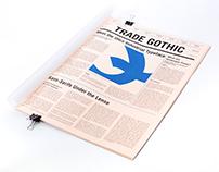 Trade Gothic Type Specimen Book