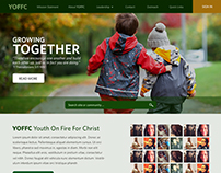 YOFFC - Youth On Fire For Christ (Mockup)