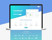 InstaRadar Web Design