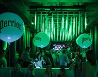 Perrier event design