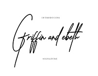 FREE Font: Griffin and ebeth