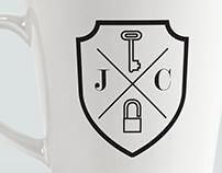 Locksmith monogram J.C.