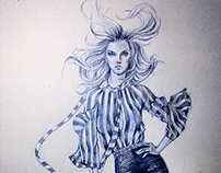 fashion sketches '14