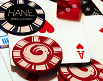 Hane Luxury Casino Branding