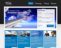 Star Navigation: Website Design